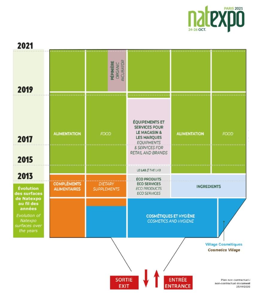 Floorplan Natexpo Trade Show
