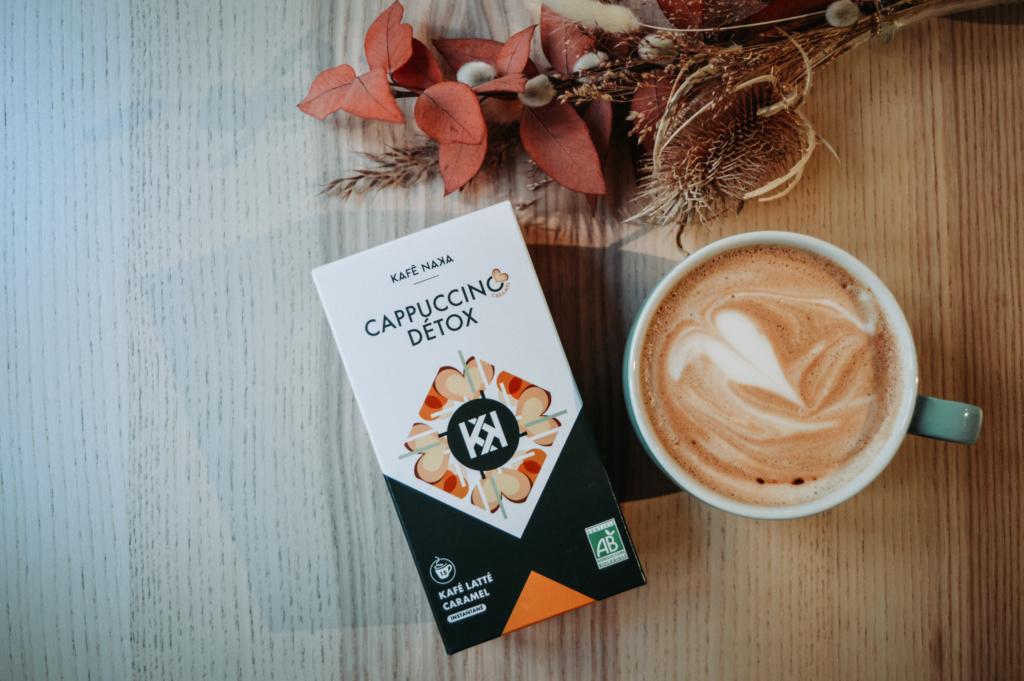 Après le café détox, Kafé Naka lance une gamme de Latte dont le délicieux Cappuccino.
