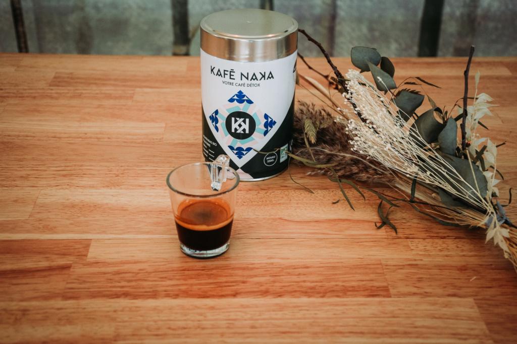 Kafé Naka présente son café détox.