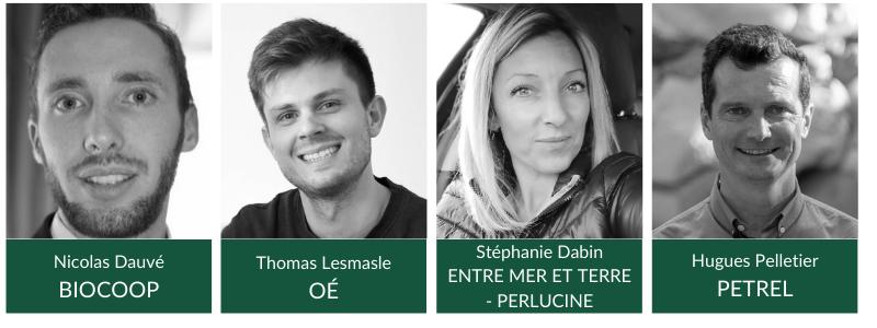 4 acteurs engagés interviendront durant ce webinar sur l'économie circulaire