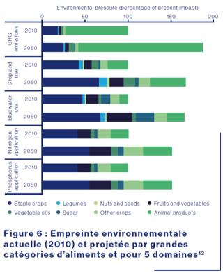 Alimentation durable : Empreinte environnementale des grandes catégories d'aliments