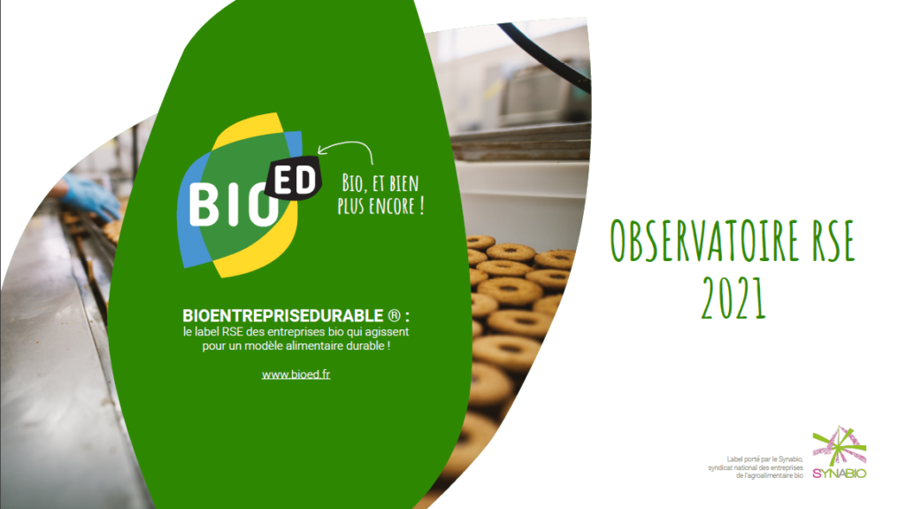 BioED : Observatoire RSE Synabio 2021