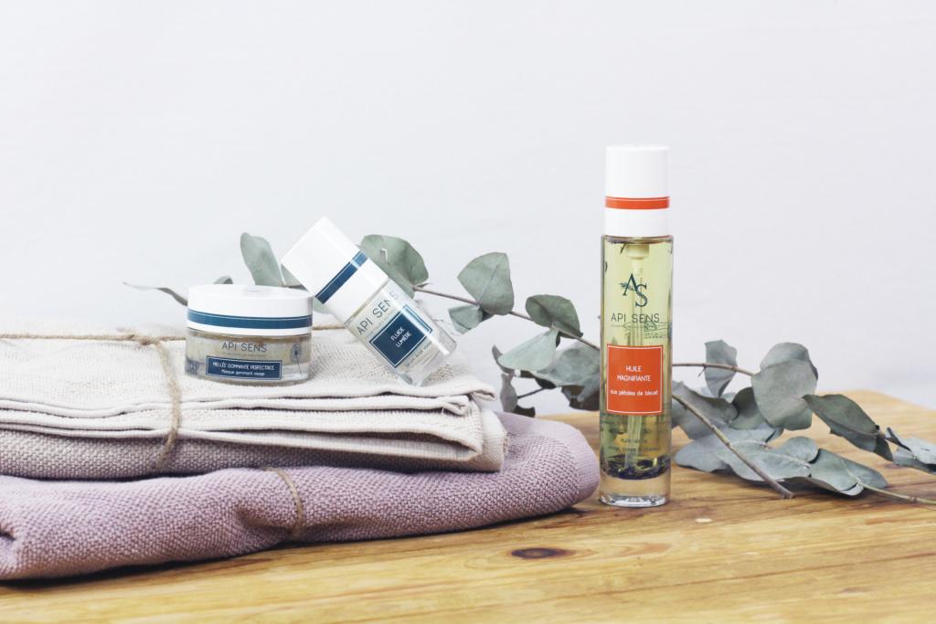 La cosmétique biologique de Api Sens innove avec les produits de la ruche